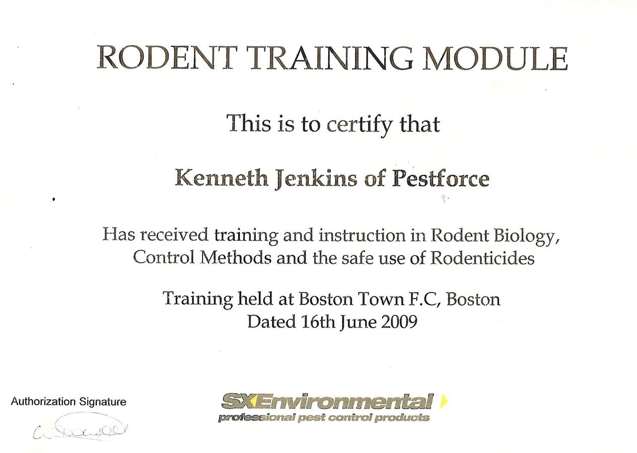 Rodent Training Module